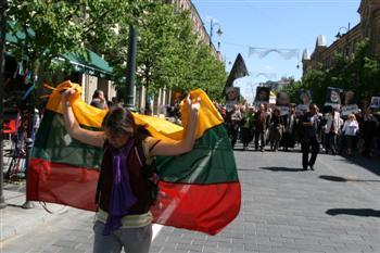 Elena Narkeviciutė Vilniuje, 2012 05 19