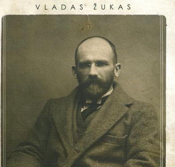 """V.Žuko knygos """"Gyvenimas knygai: Vaclovas Biržiška"""" viršelio fragmentas"""