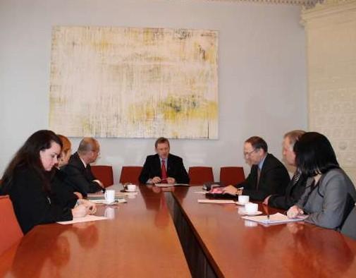 Lietuvos savivaldybių asociacija (LSA) susitikimas su kultūros ministru