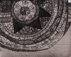 Mandala. Dalios Juodakytės piešinys