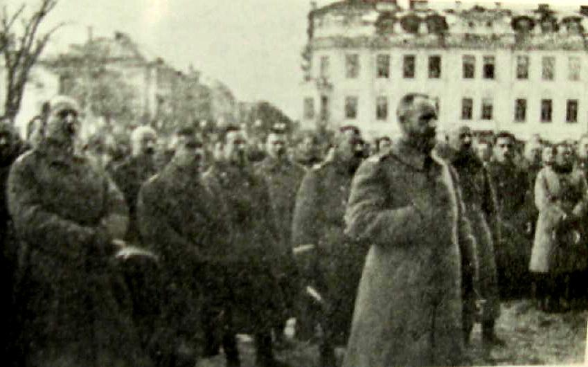 J.Želigovskis1920m Vilniuje | en.wikipedija.org nuotr.