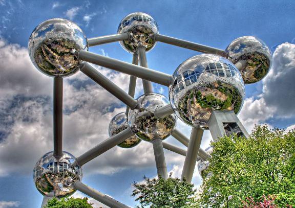 """Briuselio """"Atomiumas"""""""