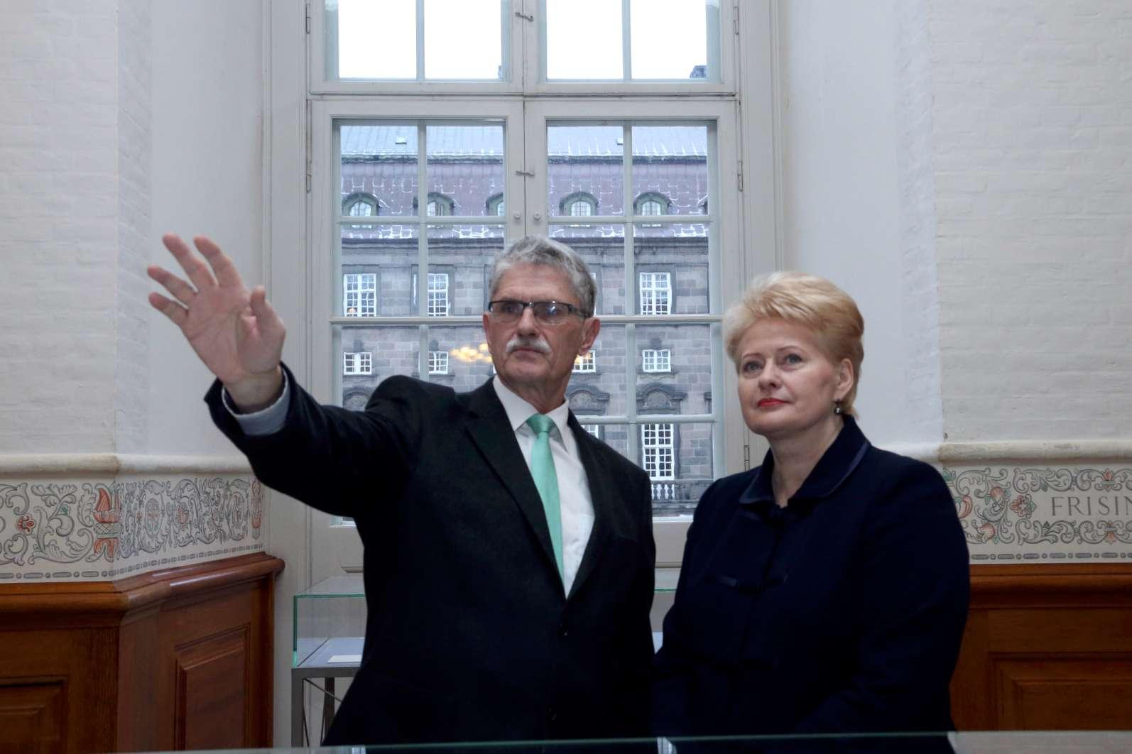 Prezidentės susitikimas su Danijos Parlamento pirmininku Mogensu Liuketoftu | lrp.lt, Dž.G.Barysaitės nuotr.
