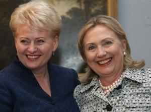 D.Grybauskaitė ir H.Klinton | lrp.lt nuotr.