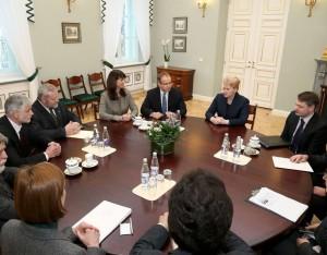 Susitikimas su Baltijos šalių ūkininkais | lrp.lt, Dž.Barysaitės nuotr.