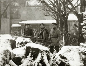 Klaipėdos krašto savanorių armijos kariai, 1923 m., Klaipeda | LCVA. P-6603 nuotr.