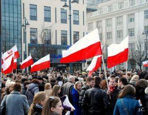 Lenkakalbių piketas Vilniuje | J. Česnavičiaus nuotr.