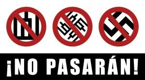 """Veidaknygėje platinamas """"antifašistinis"""" plakatas"""