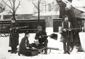 1923 m. Klaipėdos sukilimo dalyviai | archyvai.lt nuotr.