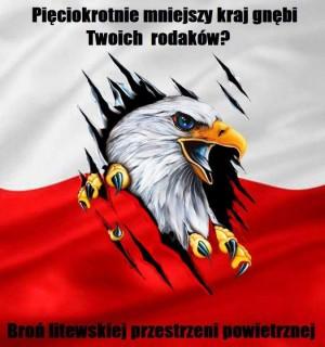 Lenkų šovinistų plakatas