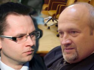 E.Trusevičius ir G.Songaila | Alkas.lt koliažas