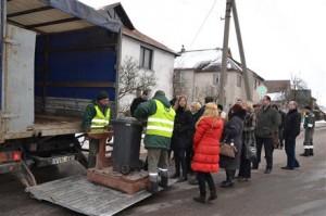 Atliekų svėrimas | Alytaus miesto savivaldybės nuotr.