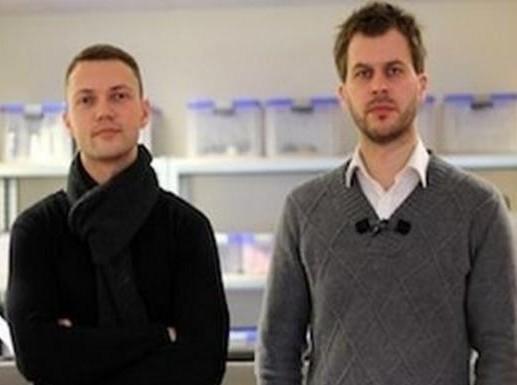 Aurelijus Liubinas ir Rolandas Sereika
