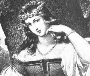 Baltarusijos archyvuose saugomas XIX a. dailininko Birutės portretas.