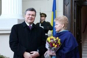 Lietuvos ir Ukrainos vadovų susitikimas | Dž. G.Barysaitės nuotr.