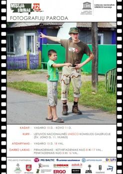 Misija Sibiras'12 plakatas