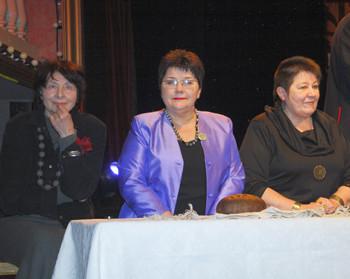 Trys iš keturių Ratilio vadovės: Aldona Ragevičienė, Zita Kelmickaitė, Milda Ričkutė | K.Lazausko nuotr.