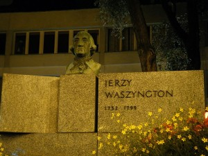 Paminklas Dž. Vašingtonui Varšuvoje | wikipedia.org