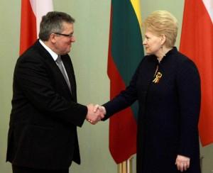 B.Komorovskis ir D.Grybauskaitė | lrp.lt nuotr.