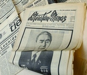 Leonido Brežnevo nekrologas sovietiniuose laikraščiuose | DELFI, K.Čachovskio nuotr.