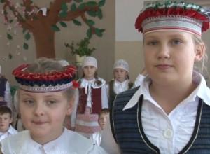 Navinykų k. moksleivės | Punskas.pl nuotr.
