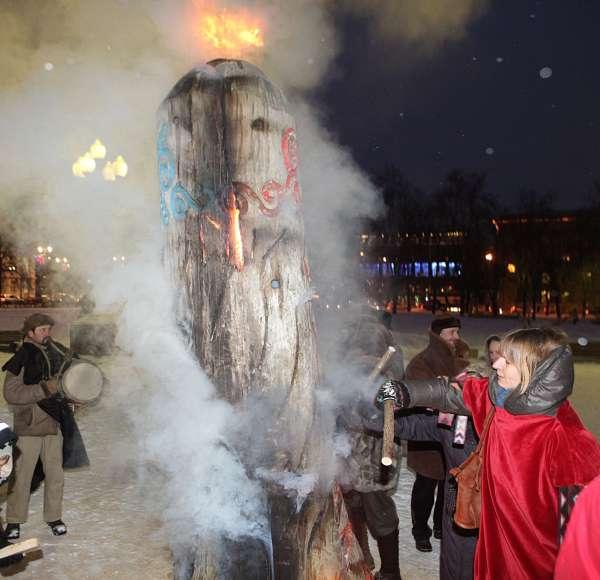 2012 gruodžio 12 d., Vilnius, Lukiškės