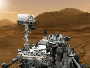 """Curiosity"", NASA pav."