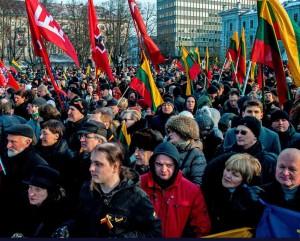 Kovo 11-osios eitynės 2013 m. | Alkas.lt, A. Saertanavičiaus nuotr.