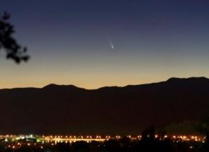Kometa C/2011 L4, V.Tabur nuotr.
