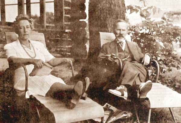 Sofija ir Antanas Smetonos, Tabor Farm, Sodus, Michigan.