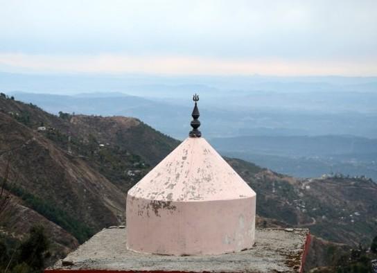 Vaizdas į Himalajų Dharamsalos slėnį | A.Balbieriaus nuotr.