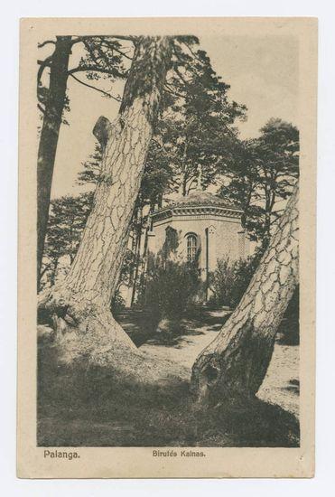 Tarpukariu populiarūs buvo ir atvirukai su Birutės kalno koplyčia.