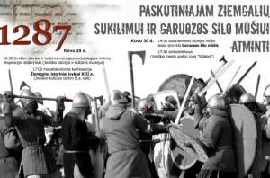 Garuozos mūšio 2013 m. minėjimo plakatas