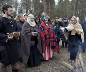 Lygė ant Pūčkorių piliakalnio 2012 m. | V.Daraškevičiaus nuotr.