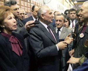 Michailas Gorbačiovas Lietuvoje, 1990 m. sausyje | RIA/Scanpix nuotr.