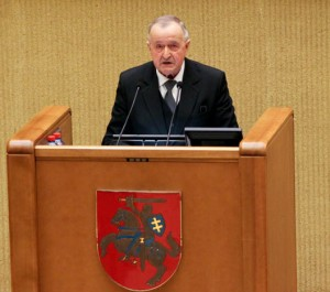 Romas Gudaitis | lrs.lt, I.Šelenkovos nuotr.