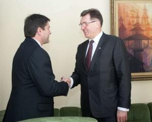 V.Liškausko ir A. Butkevičiaus susitikimas | lrv.lt nuotr.