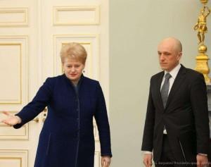Prezidentė susitiko su Specialiųjų tyrimų tarnybos direktoriumi Sauliumi Urbanavičiumi |  Dž. G. Barysaitės, lrp.lt nuotr.
