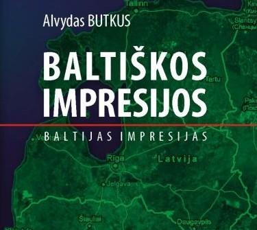 """A.Butkaus knygos """"Baltiškos impresijos"""" viršelio dalis"""