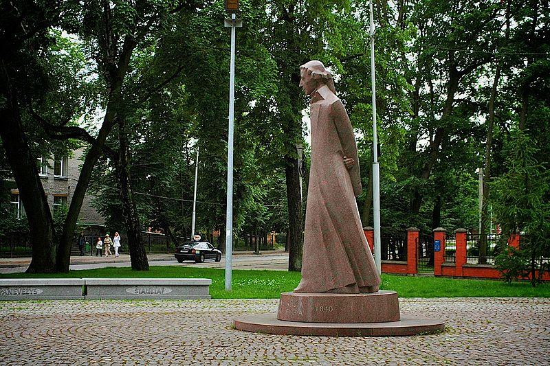 L. Rėzos paminklas Kaliningrade | lt.wikipedija.org nuotr.