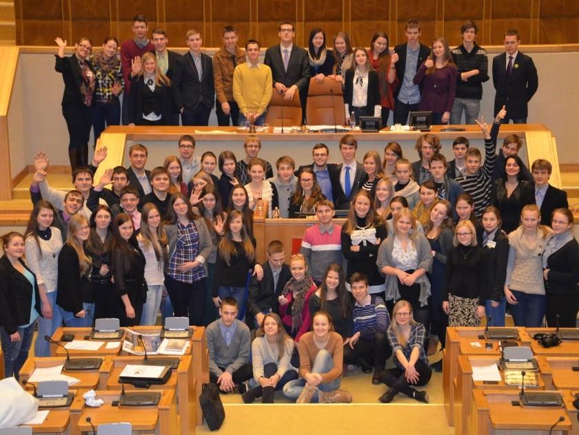 Mokinių parlamentas | lmp.lt nuotr.