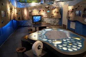 Sartų regioninio parko lankytojų centro ekspozicija   Valstybinių saugomų teritorijų tarnybos nuotr.