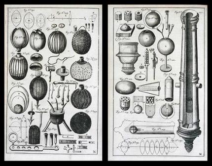 """Knygos """"Didysis artilerijos menas"""" iliustracija"""