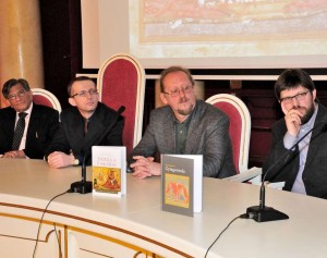A.Beinoriaus ir. V.Jaskūno knygų pristatymas Vilniaus Universitete | vu.lt nuotr.