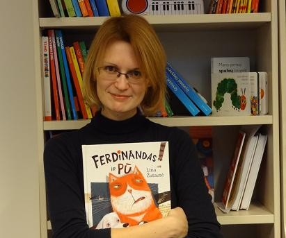 """Lina Žutautaitė """"Ferdinandas ir Pū""""   knyguklubas.lt nuotr."""
