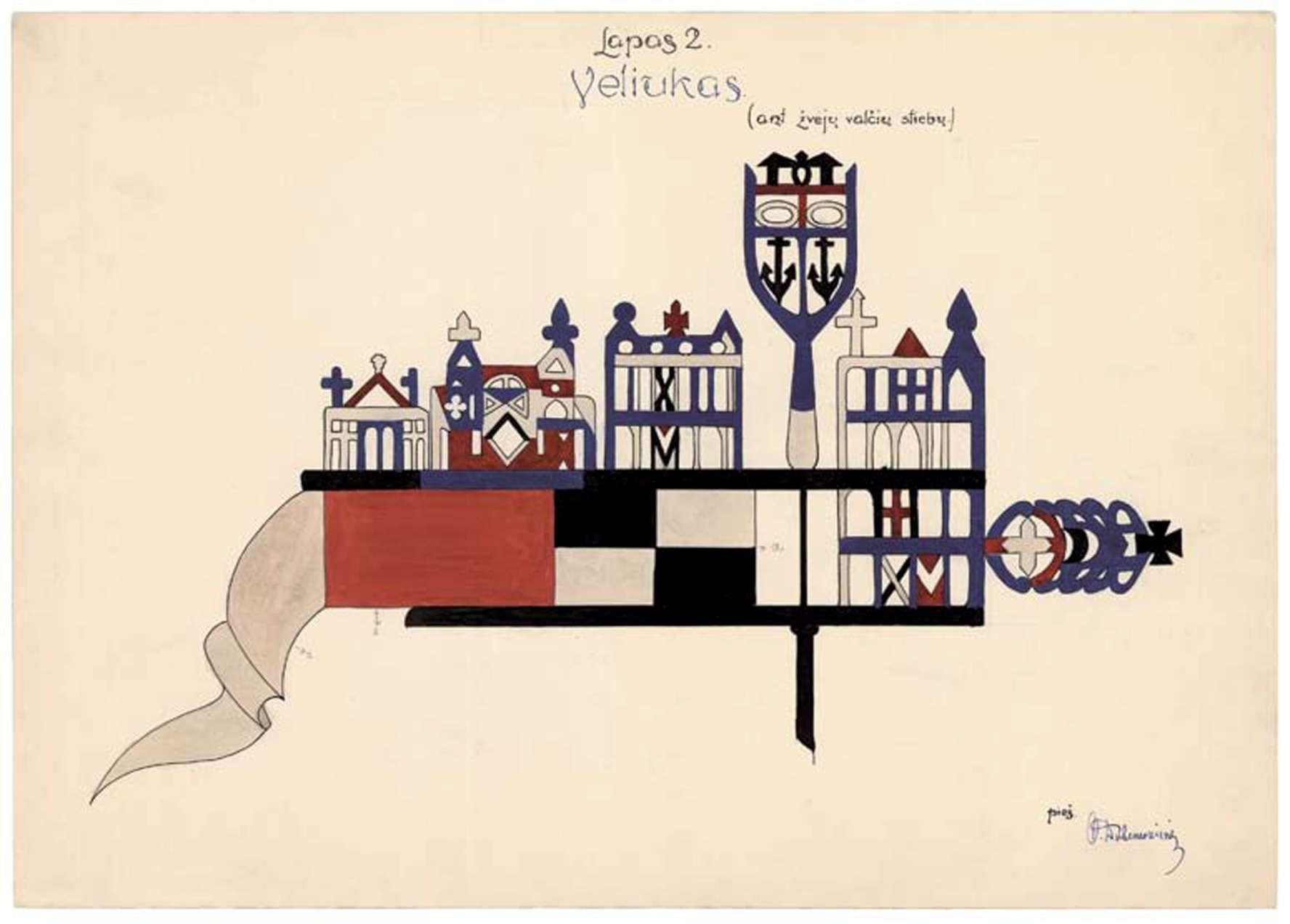 Iš Nacionalinio M.K.Čiurlionio dailės muziejaus rinkinių