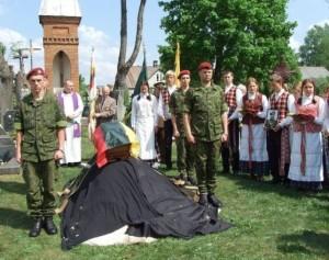 Partizanų perlaidojimas | Varėnos rajono savivaldybės nuotr.