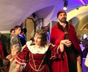 Renginyje svečiavosi kunigaikštis Radvila su kunigaikštiene iiš Biržų pilies | S.Paškevičiaus nuotr.