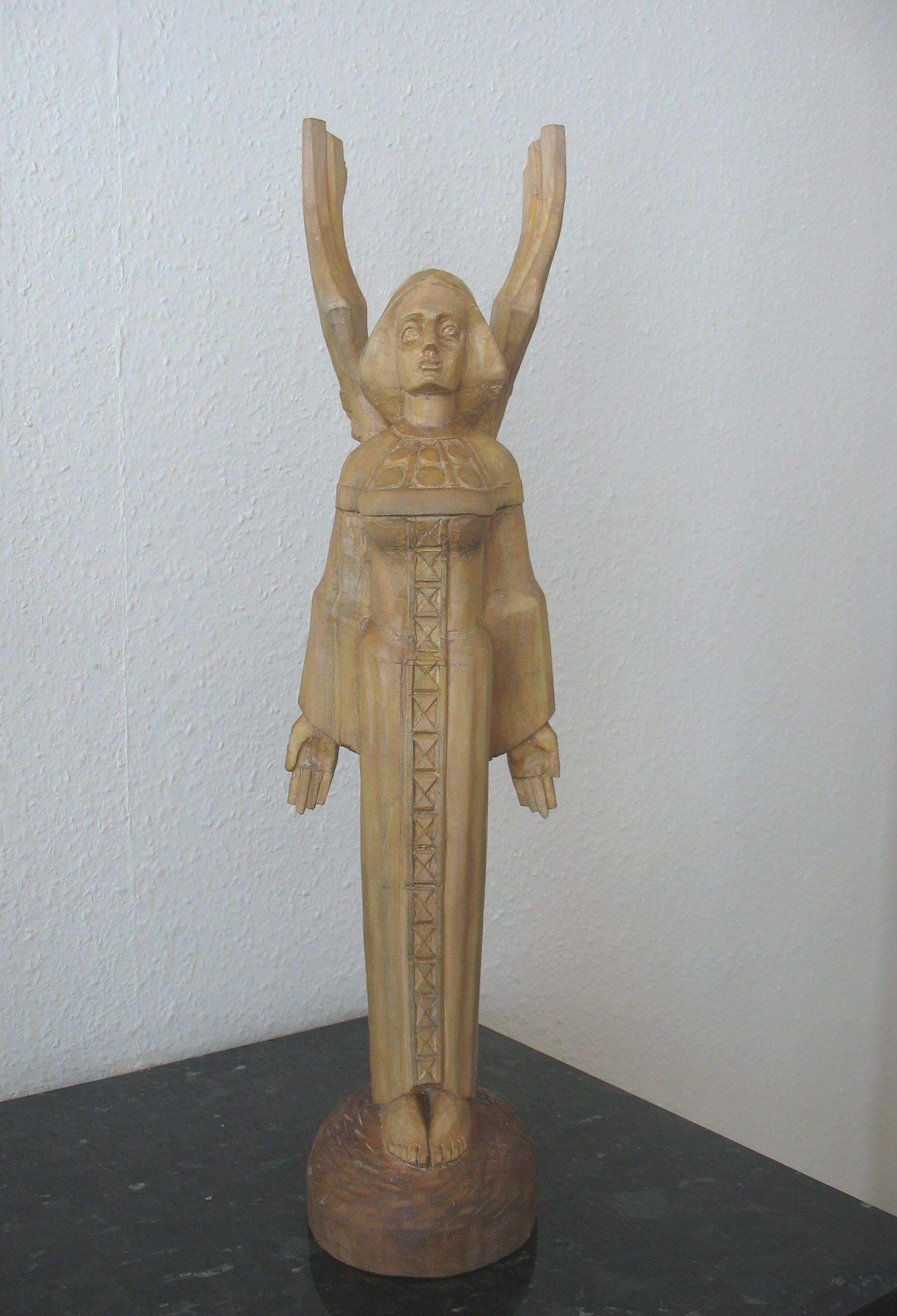 """Etninės kultūros globos tarybos įsteigti specialieji prizas – skulptūra """"Angelas"""""""