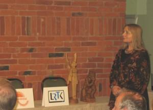 Etninės kultūros globos tarybos pirmininkė Dalia Urbanavičienė įteikė specialiuosius prizus
